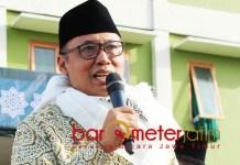 MANTAP PILIH JOKOWI: Mantan Wakil Kepala BIN, As'ad Said Ali, pilih Jokowi karena pribadi yang religius dan sederhana. | Foto: Barometerjatim.com/ROY HASIBUAN