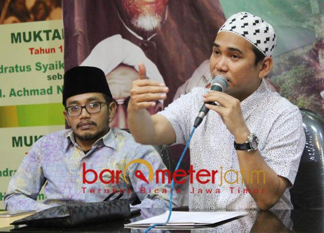 SEJUTA UMAT: Gus Reza Ahmad Zahid, sejuta umat akan menghadiri istighotsah kubro yang digelar PWNU Jatim di Sidoarjo, Minggu (21/10). | Foto: Barometerjatim.com/ROY HASIBUAN
