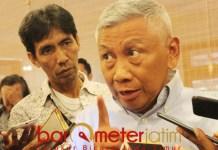 CARI SUARA SENDIRI: Gus Choi, Nasdem tak dapat coattail effect apapun dari Jokowi maupun Ma'ruf Amin. | Foto: Barometerjatim.com/ROY HASIBUAN