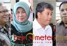 DIPENJARA KARENA SUAP: (Dari kiri) Bambang Heryanto, Rohayati, Syamsul Arifien dan Ardi Prasetyawan. Berikutnya siapa lagi yang akan dibui?