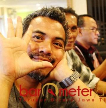 """WARNA UGLU: Budi """"Uglu"""" Sugiarto, warna lain di Pilwali Surabaya. Akankah maju di 2020?   Foto: Barometerjatim.com/ROY HASIBUAN"""
