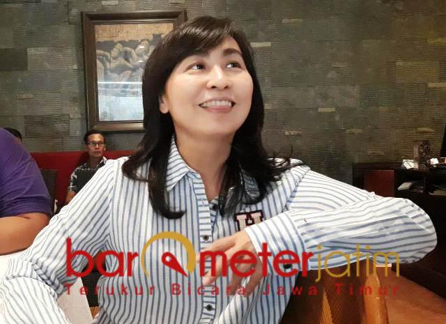 MASUK BURSA PILWALI: Pemilik The Empire Palace, Chin Chin. Namanya masuk di bursa Pilwali Surabaya 2020.   Foto: Barometerjatim.com/ABDILLAH HR