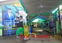 Jelang pembukaan Munas Alim Ulama dan Konbes Nahdlatul Ulama. | Foto: Barometerjatim.com/syaiful khusnan