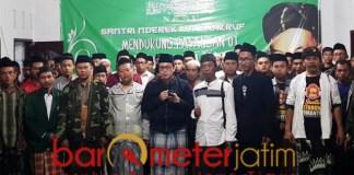 KMB menggelar deklarasi pemenangan Jokowi-Ma'ruf Amin di Pacitan. | Foto: Barometerjatim.com/roy hs