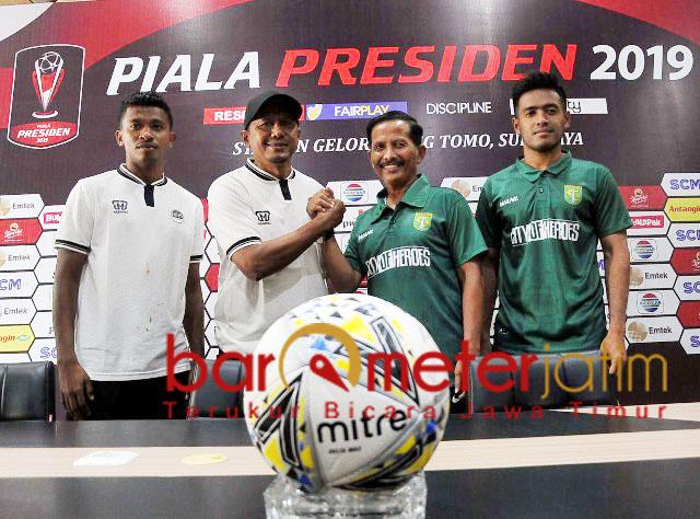 Persebaya, optimis kalahkan PS Tira Persikabo di Gelora Bung Tomo, besok sore. | Foto: Barometerjatim.com/dani iqbaal