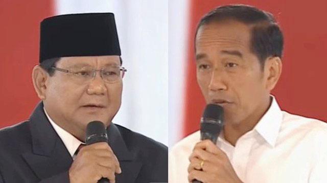 Debat Capres! Prabowo versus Jokowi adu argumen soal pertahanan dan keamanan negara. | Foto: Ist