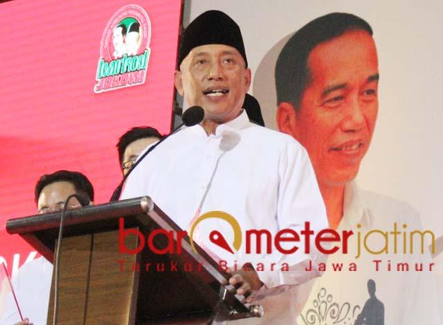 Arum Sabil, bergerak dalam senyap dalam memenangkan Jokowi-Ma'ruf Amin di Jatim. | Foto: Barometerjatim.com/roy hs