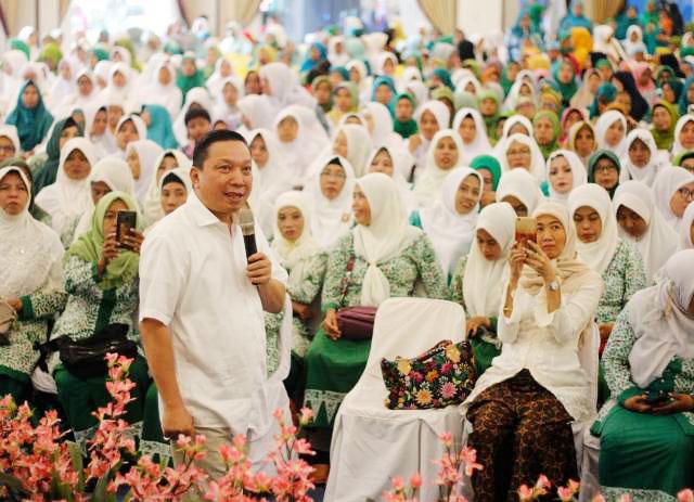 Fandi Utomo, jangan korbankan semangat Pancasila dan Bhinneka Tunggal Ika dalam proses Pemilu 2019. | Foto: Ist