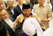 Prabowo Subianto, mendapat dukungan penuh dari kiai-habaib untuk memenangi Pilpres 2019. | Foto: Ist
