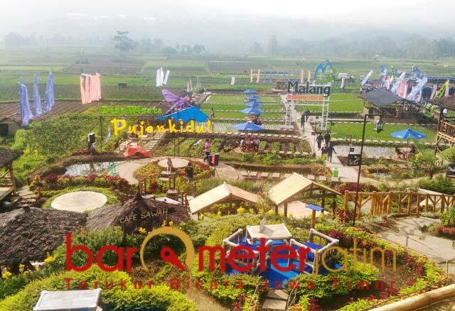 Desa Wisata Pujon Kidul, dua tahun sumbang  PAD ke Pemkab Malang Rp 2,5 miliar. | Foto: Barometerjatim.com/roy hs