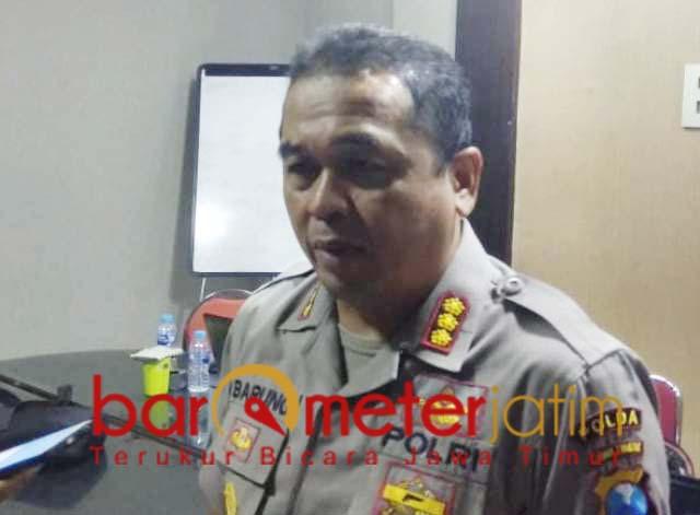 Frans Barung Mangera, pelaku rusuh May Day di Surabaya kelompok Anarko.   Foto: Barometerjatim.com/nantha lintang
