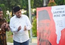 Wakil Bupati Sumenep, Achmad Fauzi launching buku perdananya: Saatnya MOve On. | Foto: Ist