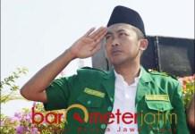 SATU KOMANDO: Faridz Afif, Ansor Surabaya ikuti pimpinan pusat soal Konferwil Ansor Jatim. | Foto: Barometerjatim.com/ROY HS