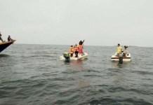 ILUSTRASI: Pencarian perahu tenggelam. | Foto: IST