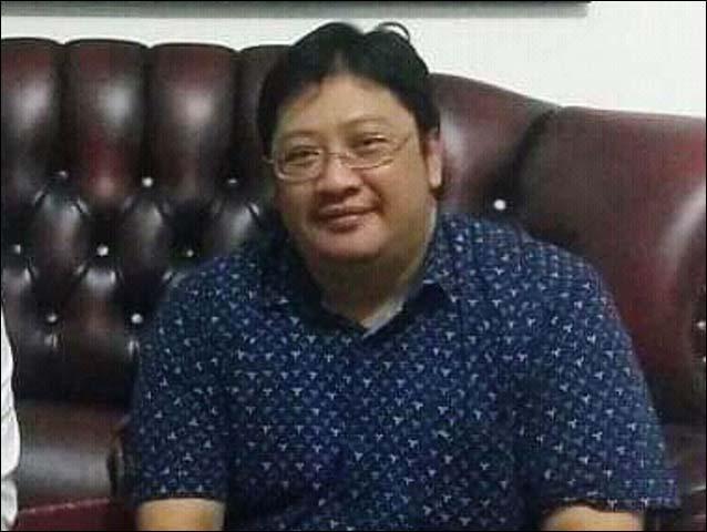 TECHNOPRENEUR: Dedy Rahman Prehanto, 'orang teknologi' turut ramaikan bursa Pilwali Surabaya 2010. | Foto: IST
