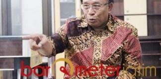 KANDIDAT BUPATI SIDOARJO: Haji Masnuh, saudagar NU masuk bursa Pilbup Sidoarjo 2020. | Foto: Barometerjatim.com/ROY HS