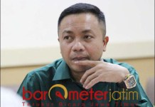 HAK RASA KEADILAN: Rahmat Santoso, sikapi putusan MA bebaskan Syafruddin Temenggung. | Foto: Barometerjatim.com/ABDILLAH HR