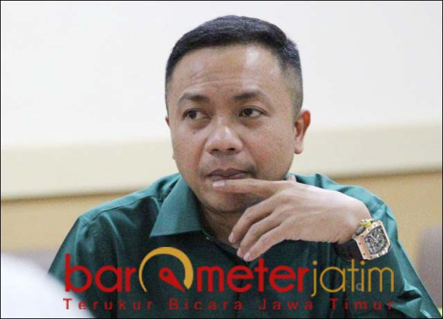 HAK RASA KEADILAN: Rahmat Santoso, sikapi putusan MA bebaskan Syafruddin Temenggung.   Foto: Barometerjatim.com/ABDILLAH HR
