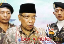 APA KATA MUKTAMIRIN: Kiai Said Aqil Siroj, maju atau tidak lagi terserah peserta muktamar. | Foto: Barometerjatim.com/ROY HS