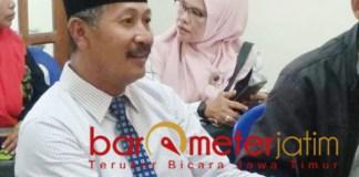 SERIUS MAJU: Suhandoyo, 100 pessen serius maju calon bupati Lamongan. | Foto: Barometerjatim.com/HAMIM ANWAR