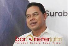 PENJARINGAN GERINDRA: Bagiyon, MA ikut penjaringan lewat DPD Gerindra Jatim. | Foto: Barometerjatim.com/ROY HS