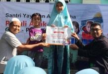 UNTUK PALESTINA: Donasi dari siswa SD Luqman Al Hakim Jember untuk anak-anak Palestina. | Foto: IST