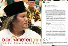 RENDAHKAN NABI?: Sidogiri nilai Gus Muwafiq terkesan rendahkan kemuliaan Nabi Muhammad.   Foto: Barometerjatim.com/ROY HS