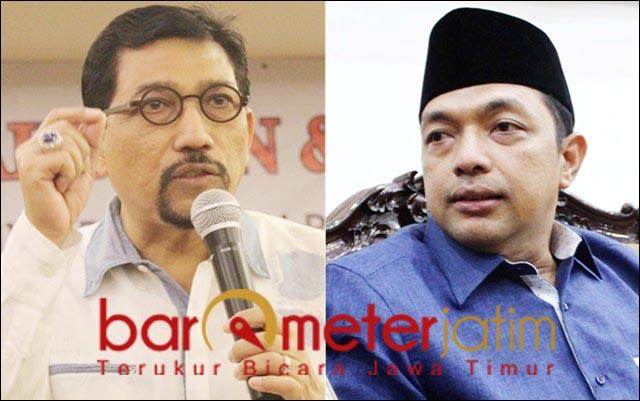 DUET IDEAL?: Machfud Arifin-Gus Hans, dinilai ideal pimpin Surabaya pasca Risma-Whisnu. | Foto: Barometerjatim.com/ROY HS