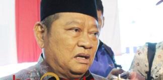 TERJARING OTT KPK: Bupati Sidoarjo, Saiful Ilah dalam satu acara. | Foto: Barometerjatim.com/ROY HS