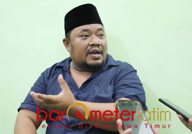 TERMOTIVASI: Yusuf Hidayat, semakin termotivasi tingkatkan elektabilitas Lia Istifhama. | Foto: Barometerjatim.com/ROY HS