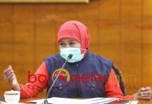 DAMPAK CORONA: Khofifah, bebaskan sewa Rusunawa milik Pemprov Jatim selama tiga bulan. | Foto: Barometerjatim.com/ROY HS