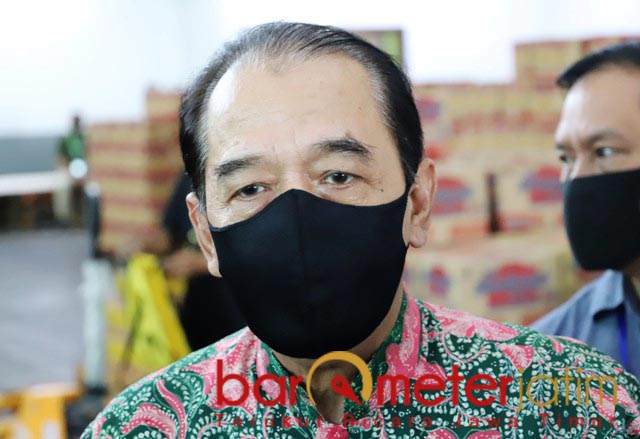 BENDUNG SPEKULAN: Erlangga Satriagung, Lumbung Pangan Jatim bikin spekula, 'gigit jari'.   Foto: Barometerjatim.com/ROY HS
