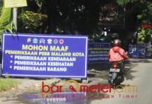 CUKUP SEKALI: PSBB Malang Raya dinilai lebih berhasil ketimbang Surabaya Raya. | Foto: Barometerjatim.com/ROY HS