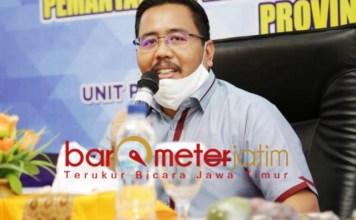 INTERPELASI: Anwar Sadad, interpelasi kepada Khofifah momentum menata Bank Jatim. | Foto: Barometerjatim.com/ROY HS