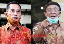 PILBUP SIDOARJO: Gus Rofi'i (kiri), Haji Masnuh (kanan) magnet bagi elemen di Sidoarjo dukung Kelana-Astuti. | Foto: Barometerjatim.com/ROY HS