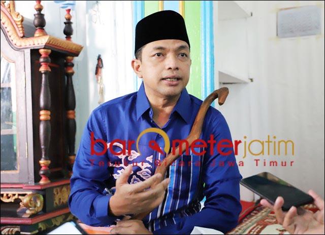 PILWALI SURABAYA: Gus Hans, restui pendukungnya pilih Eri-Armuji di Pilwali Surabaya? | Foto: Barometerjatim.com/ROY HS