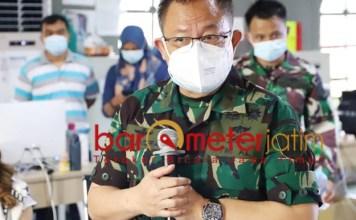 NAIK 400 PERSEN: Dokter Nalendra, pasien Covid-19 di RS Lapangan Surabaya melonjak 400 persen. | Foto: Barometerjatim.com/ROY HS