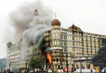 REFLEKSI: Serangan di Hotel Taj Mahal Palace and Tower pada 26 November 2008. | Foto: OutlookIndia.com