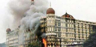 REFLEKSI: Serangan di Hotel Taj Mahal Palace and Tower pada 26 November 2008.   Foto: OutlookIndia.com