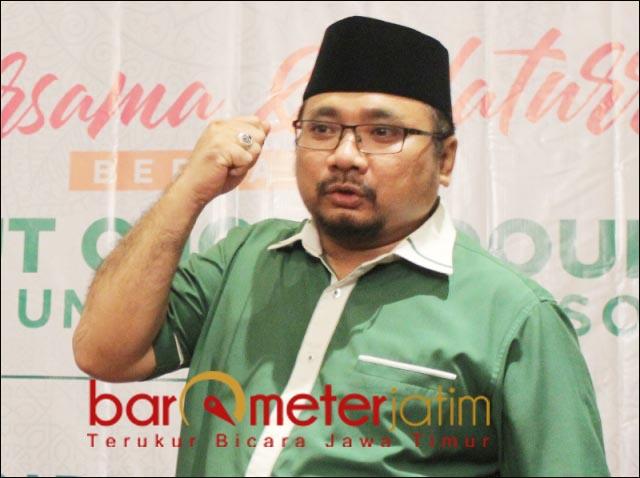 AFIRMASI SYIAH-AHMADIYAH: Gus Yaqut, berencana afirmasi kelompok Syiah dan Ahmadiyah. | Foto: Barometerjatim.com/DOK