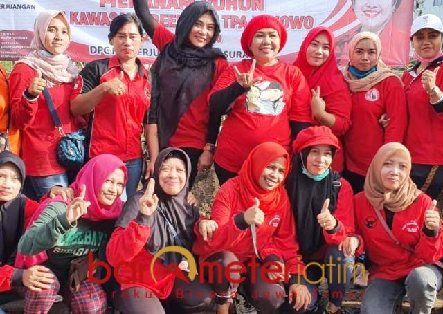 KEBIJAKAN PRO-PEREMPUAN: Penguatan kebijakan pro-perempuan di Surabaya terus dilakukan.   Foto: Barometerjatim.com/ROY HS
