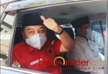 OPTIMISTIS: Eri Cahyadi, optmistis MK akan menolak gugatan Machfud Arifin-Mujiaman. | Foto: Barometerjatim.com /ROY HS