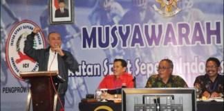ISSI JATIM: Wahid Wahyudi, ucapkan selamat Kapolri Jenderal Pol Listyo Sigit Prabowo jadi Ketum PB ISSI.   Foto Barometerjatim.com/ROY HS