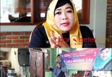 RESES: Laila Mufidah saat reses anggota DPRD Surabaya, banyak serap aspirasi warga.   Foto: Barometerjatim.com/IST