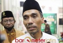 SHALAT ID: Muhibbin Zuhri, sarankan pelaksanaan shalat Idul Fitri berbasis komunitas. | Foto: Barometerjatim.com/ROY HS