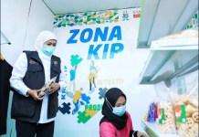 KOLABORASI: Khofifah, pengembangan BUMDesa dibutuhkan kolaborasi dengan seluruh elemen. | Foto: Barometerjatim.com/IST
