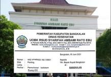 LOCKDOWN TIGA HARI: Kasus Covid-19 di Bangkalan membludak, IGD RSUD minta lockdown tiga hari. | Foto: IST