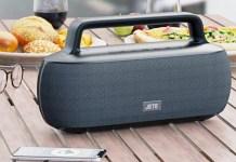 JETE S8 SERIES: Speaker Bluetooth JETE S8 Series, tampil berdesain klasik dengan fitur terkini. | Foto: IST