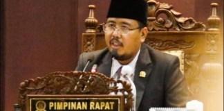 JANGAN BANGGA PENGHARGAAN: Anwar Sadad, parameter evaluasi Pemda adalah IKU bukan banyaknya penghargaan. | Foto: IST