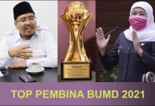 SINDIRAN: Anwar Sadad, penghargaan TOP Pembina BUMD yang diterima Khofifah seperti sindiran. | Foto: Barometerjatim.com/ROY HS